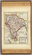 India Proper or the Empire of the Mogul. Agreeable to modern history. By H. Moll Geographer. (Printed and sold by T. Bowles next ye Chapter House in St. Pauls Church yard, & I. Bowles at ye Black Horse in Cornhill, 1736?)