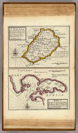 St. Helena ... By H. Moll Geographer. The Bay of Agoa de Saldanha ... by H. Moll Geographer. (Printed and sold by T. Bowles next ye Chapter House in St. Pauls Church yard, & I. Bowles at ye Black Horse in Cornhill, 1736?)