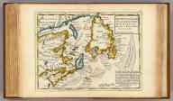 New Found Land, St. Laurence Bay, the fishing banks, Acadia, and part of New Scotland. By H. Moll Geographer. (Printed and sold by T. Bowles next ye Chapter House in St. Pauls Church yard, & I. Bowles at ye Black Horse in Cornhill, 1736?)
