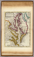 Virginia and Maryland. By H. Moll, Geographer. (Printed and sold by Tho: Bowles next ye Chapter House in St. Pauls Church Yard, & Ino: Bowles at ye Black Horse in Cornhill, 1736?)