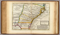 Carolina by H. Moll, Geographer. (Printed and sold by Tho: Bowles next ye Chapter House in St. Pauls Church Yard, & Ino: Bowles at ye Black Horse in Cornhill, 1736?)