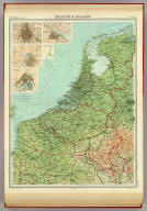 "Belgium & Holland. The Edinburgh Geographical Institute, John Bartholomew & Son, Ltd. ""The Times"" atlas. (London: The Times, 1922)"