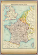 "France, Belgium & Holland - political. The Edinburgh Geographical Institute, John Bartholomew & Son, Ltd. ""The Times"" atlas. (London: The Times, 1922)"
