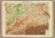 """Germany - southern section. The Edinburgh Geographical Institute, John Bartholomew & Son, Ltd. """"The Times"""" atlas. (London: The Times, 1922)"""