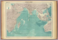"""Indian Ocean on Mercator's projection. The Edinburgh Geographical Institute, John Bartholomew & Co. """"The Times"""" atlas. (London: The Times, 1922)"""
