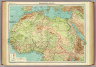"Northern Africa. The Edinburgh Geographical Institute, John Bartholomew & Son, Ltd. ""The Times"" atlas. (London: The Times, 1922)"