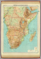 "Central & Southern Africa. The Edinburgh Geographical Institute, John Bartholomew & Son, Ltd. ""The Times"" atlas. (London: The Times, 1922)"