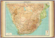 "South Africa. The Edinburgh Geographical Institute, John Bartholomew & Son, Ltd. ""The Times"" atlas. (London: The Times, 1922)"