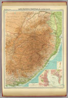 "Cape Province, Transvaal, &c. - eastern section. (with) Port Elizabeth. (with) Durban. The Edinburgh Geographical Institute, John Bartholomew & Son, Ltd. ""The Times"" atlas. (London: The Times, 1922)"