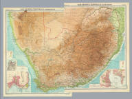 "(Composite of) Cape Province, Transvaal, &c. The Edinburgh Geographical Institute, John Bartholomew & Son, Ltd. ""The Times"" atlas. (London: The Times, 1922)"