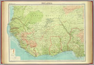 "West Africa. The Edinburgh Geographical Institute, John Bartholomew & Son, Ltd. ""The Times"" atlas. (London: The Times, 1922)"