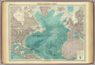 "North Atlantic Ocean on Mercators projection. The Edinburgh Geographical Institute, John Bartholomew & Co. ""The Times"" atlas. (London: The Times, 1922)"