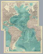 "(Composite of) Section maps of the Atlantic Ocean on Mercators projection. The Edinburgh Geographical Institute, John Bartholomew & Co. ""The Times"" atlas. (London: The Times, 1922)"