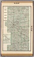 Counties of Platt, De Witt, Macon, Shelby, and Moultrie. (with) Farmer City. (Union Atlas Co., Warner & Beers, Proprietors. Lakeside Building Cor: of Clark & Adams Sts. Chicago. 1876. Entered ... 1876 by Warner & Beers ... Washington D.C.)