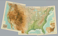 """(Composite of) United States ... section. The Edinburgh Geographical Institute, John Bartholomew & Co. """"The Times"""" atlas. (London: The Times, 1922)"""
