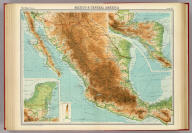 """Mexico & Central America. The Edinburgh Geographical Institute, John Bartholomew & Co. """"The Times"""" atlas. (London: The Times, 1922)"""