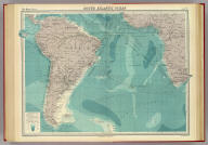 "South Atlantic Ocean on Mercators projection. The Edinburgh Geographical Institute, John Bartholomew & Co. ""The Times"" atlas. (London: The Times, 1922)"