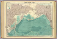 """North Pacific Ocean on Mercators projection. The Edinburgh Geographical Institute, John Bartholomew & Co. """"The Times"""" atlas. (London: The Times, 1922)"""