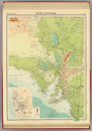 "South Australia. (with Adelaide Region). The Edinburgh Geographical Institute, John Bartholomew & Co. ""The Times"" atlas. (London: The Times, 1922)"