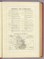 Addenda and corrigenda. (with map) Upper Silesia: frontier as laid down by the League of Nations. Settlement of October, 1921. Copyright John Bartholomew & Son, Ltd., Edinr. (London: The Times, 1922)