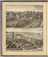 Dairy farms of R.S. Houston and W.C. White, Pleasant Prairie, Wis.