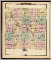 Map of Dodge County, State of Wisconsin. Copyright 1877, by Snyder, Van Vechten & Co. (Compiled and published by Snyder, Van Vechten & Co., Milwaukee. 1878)