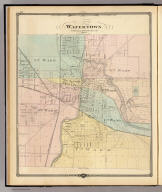 Watertown, Dodge & Jefferson cos. (Compiled and published by Snyder, Van Vechten & Co., Milwaukee. 1878)