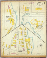 Hallowell, Kennebec Co., Maine (sheet) 3. (Sanborn-Perris Map Co. Limited. 117 Broadway, New York. Scale 50 ft. to an inch. Dec. 1889. Copyright, 1890, by the Sanborn-Perris Map Co. Limited.)