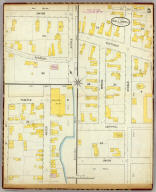 Hallowell, Kennebec Co., Maine (sheet) 5. (Sanborn-Perris Map Co. Limited. 117 Broadway, New York. Scale 50 ft. to an inch. Dec. 1889. Copyright, 1890, by the Sanborn-Perris Map Co. Limited.)