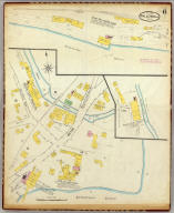 Hallowell, Kennebec Co., Maine (sheet) 6 (Sanborn-Perris Map Co. Limited. 117 Broadway, New York. Scale 50 ft. to an inch. Dec. 1889. Copyright, 1890, by the Sanborn-Perris Map Co. Limited.)