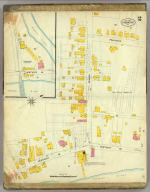 Frankfort, Kentucky, Sept. 1907. (sheet) 2. (Sanborn Map Company, 11 Broadway, New York. Title on verso:) Sanborn map of Frankfort, Ky. ...