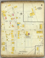 Frankfort, Kentucky, Sept. 1907. (sheet) 9. (Sanborn Map Company, 11 Broadway, New York. Title on verso:) Sanborn map of Frankfort, Ky. ...