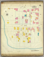 Frankfort, Kentucky, Sept. 1907. (sheet) 13. (Sanborn Map Company, 11 Broadway, New York. Title on verso:) Sanborn map of Frankfort, Ky. ...