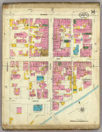 Frankfort, Kentucky, Sept. 1907. (sheet) 14. (Sanborn Map Company, 11 Broadway, New York. Title on verso:) Sanborn map of Frankfort, Ky. ...