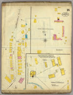Frankfort, Kentucky, Sept. 1907. (sheet) 16. (Sanborn Map Company, 11 Broadway, New York. Title on verso:) Sanborn map of Frankfort, Ky. ...