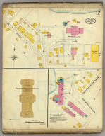 Frankfort, Kentucky, Sept. 1907. (sheet) 17. (Sanborn Map Company, 11 Broadway, New York. Title on verso:) Sanborn map of Frankfort, Ky. ...