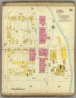 Frankfort, Kentucky, Sept. 1907. (sheet) 21. (Sanborn Map Company, 11 Broadway, New York. Title on verso:) Sanborn map of Frankfort, Ky. ...