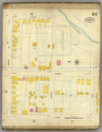 Frankfort, Kentucky, Sept. 1907. (sheet) 24. (Sanborn Map Company, 11 Broadway, New York. Title on verso:) Sanborn map of Frankfort, Ky. ...