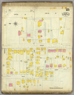 Frankfort, Kentucky, Sept. 1907. (sheet) 25. (Sanborn Map Company, 11 Broadway, New York. Title on verso:) Sanborn map of Frankfort, Ky. ...
