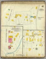Frankfort, Kentucky, Sept. 1907. (sheet) 27. (Sanborn Map Company, 11 Broadway, New York. Title on verso:) Sanborn map of Frankfort, Ky. ...