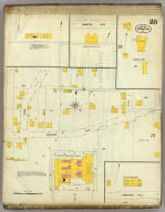 Frankfort, Kentucky, Sept. 1907. (sheet) 28. (Sanborn Map Company, 11 Broadway, New York. Title on verso:) Sanborn map of Frankfort, Ky. ...