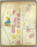 Frankfort, Kentucky, Sept. 1907. (sheet) 30. (Sanborn Map Company, 11 Broadway, New York. Title on verso:) Sanborn map of Frankfort, Ky. ...