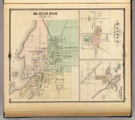 Beaver Dam, Dodge Co. (with) Map of Waupun in Dodge & Fond Du Lac cos. (with) New Lisbon, Junean (i.e., Juneau) Co. Copyright 1877, by Snyder, Van Vechten & Co. (Compiled and published by Snyder, Van Vechten & Co., Milwaukee. 1878)