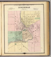 Janesville, county seat of Rock Co.