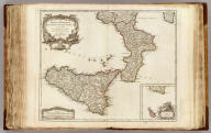 Partie Meridionale du Royaume de Naples, ou se trouvent la Calabre et l'Isle et Royaume de Sicile. Par le Sr. Robert, Geographe ordinaire du Roi. Avec Privilege. 1750. (with) Supplement pour l'Isle de Malte.