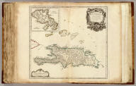 Isles de Saint Domingue ou Hispaniola, et de la Martinique. Par le Sr. Robert Geographe ord. du Roy, Avec Privilege. 1750.