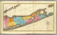 Map of the County of Suffolk. By David H. Burr. Published by the Surveyor General, pursuant to an Act of the Legislature. Entered according to an Act of Congress Jany. 5th. 1829 by David H. Burr of the State of New York. Engd. by Rawdon, Clark & Co., Albany & Rawdon, Wright & Co., N. York.
