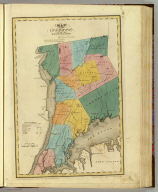 Map of the County of Westchester. By David H. Burr. Published by the Surveyor General, pursuant to an Act of the Legislature. Entered according to an Act of Congress Jany. 5th. 1829 by David H. Burr of the State of New York. Engd. by Rawdon, Clark & Co., Albany & Rawdon, Wright & Co., New York.