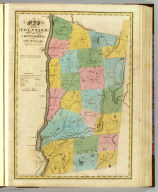 Map of the counties of Dutchess and Putnam. By David H. Burr. Published by the Surveyor General, pursuant to an Act of the Legislature. Entered according to an Act of Congress Jany. 5th. 1829 by David H. Burr of the State of New York. Engd. by Rawdon, Clark & Co., Albany & Rawdon, Wright & Co., New York.
