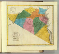 Map of the counties of Orange and Rockland. By David H. Burr. Published by the Surveyor General, pursuant to an Act of the Legislature. Entered according to an Act of Congress Jany. 5th. 1829 by David H. Burr of the State of New York. Engd. by Rawdon, Clark & Co., Albany & Rawdon, Wright & Co., N. York.
